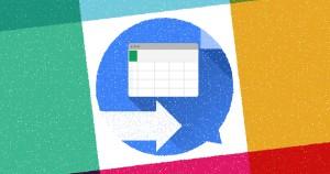 Google Apps Scriptを使って、スプレッドシートの内容をSlackに通知する