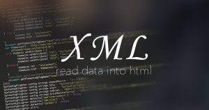 htmlにxmlファイルを読み込ませたい